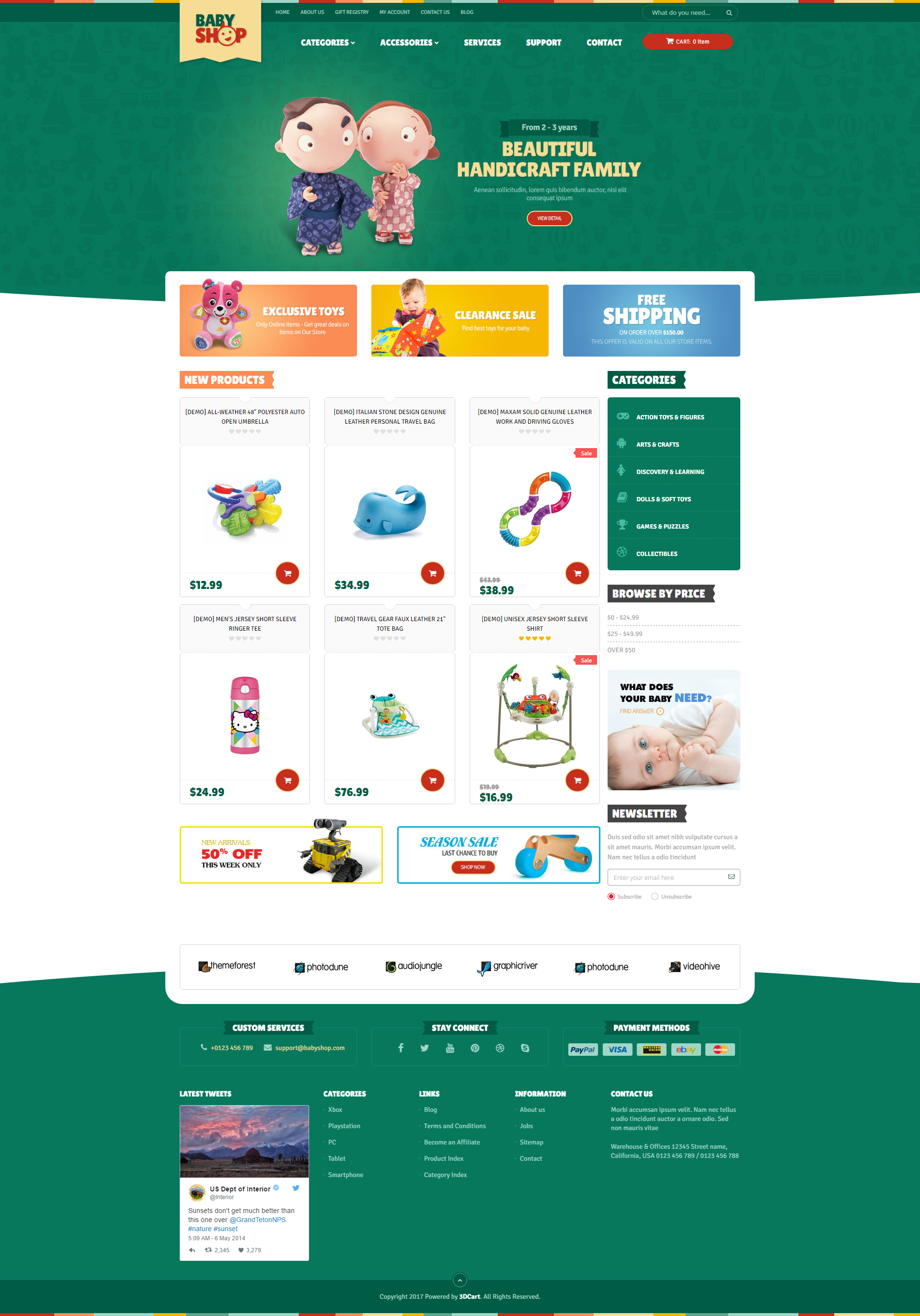 Ap Babyshop Theme