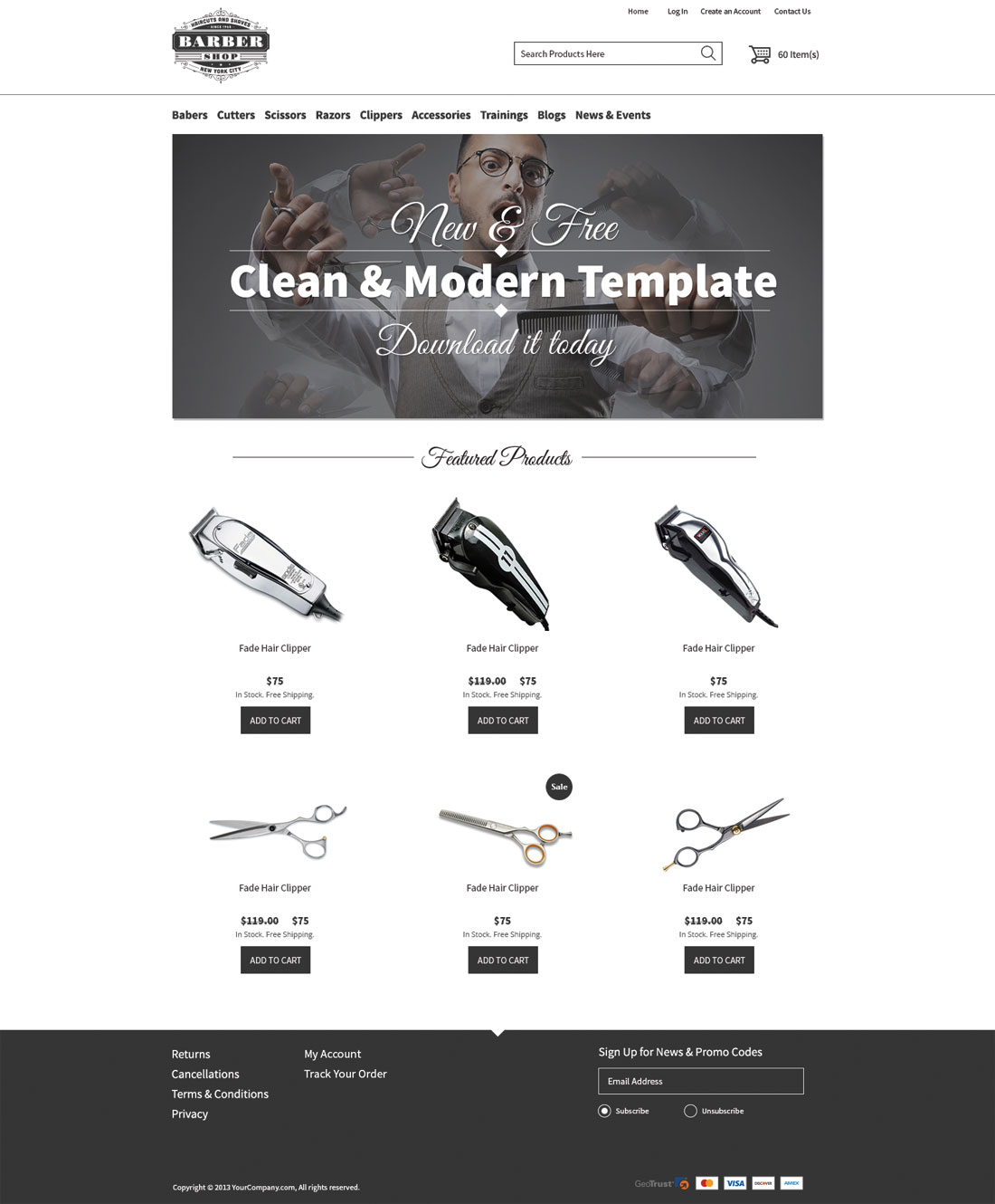 Ecommerce Website Templates by 3dcart