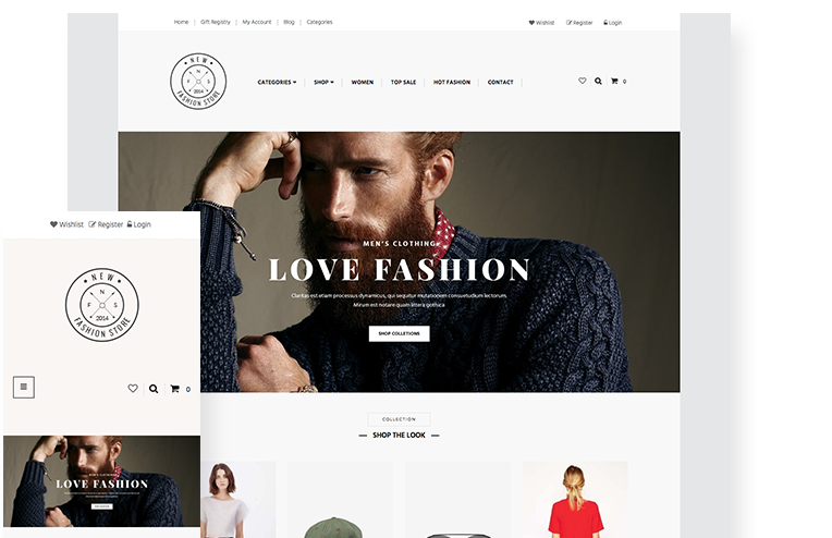 d5c96589f04b Apparel Website Template for Ecommerce - 3dcart
