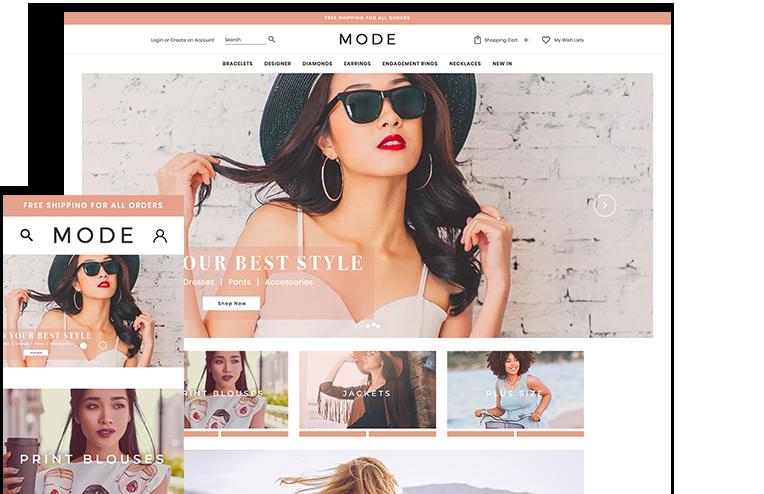 674a33a05681f9 Women's Clothing Ecommerce Website Template - 3dcart