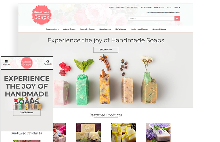 Free Template For Selling Handmade Soap